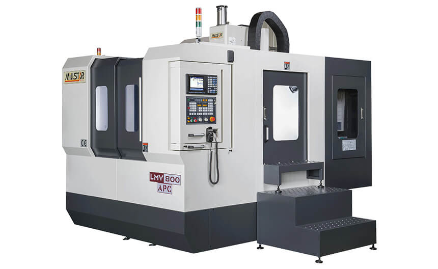 Vertical Machining Center APC series: LMV800APC