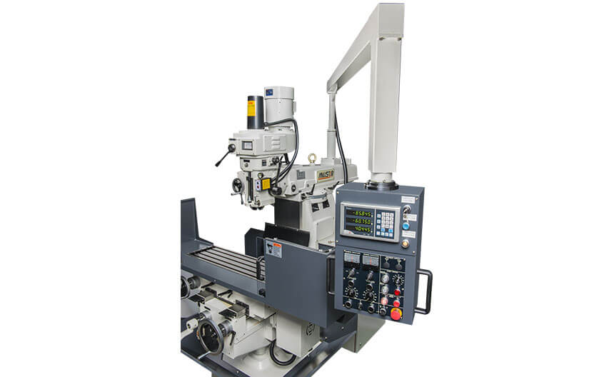 Knee Type Milling Machine: 2T
